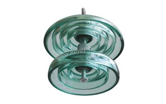 What are the types of glass insulators?