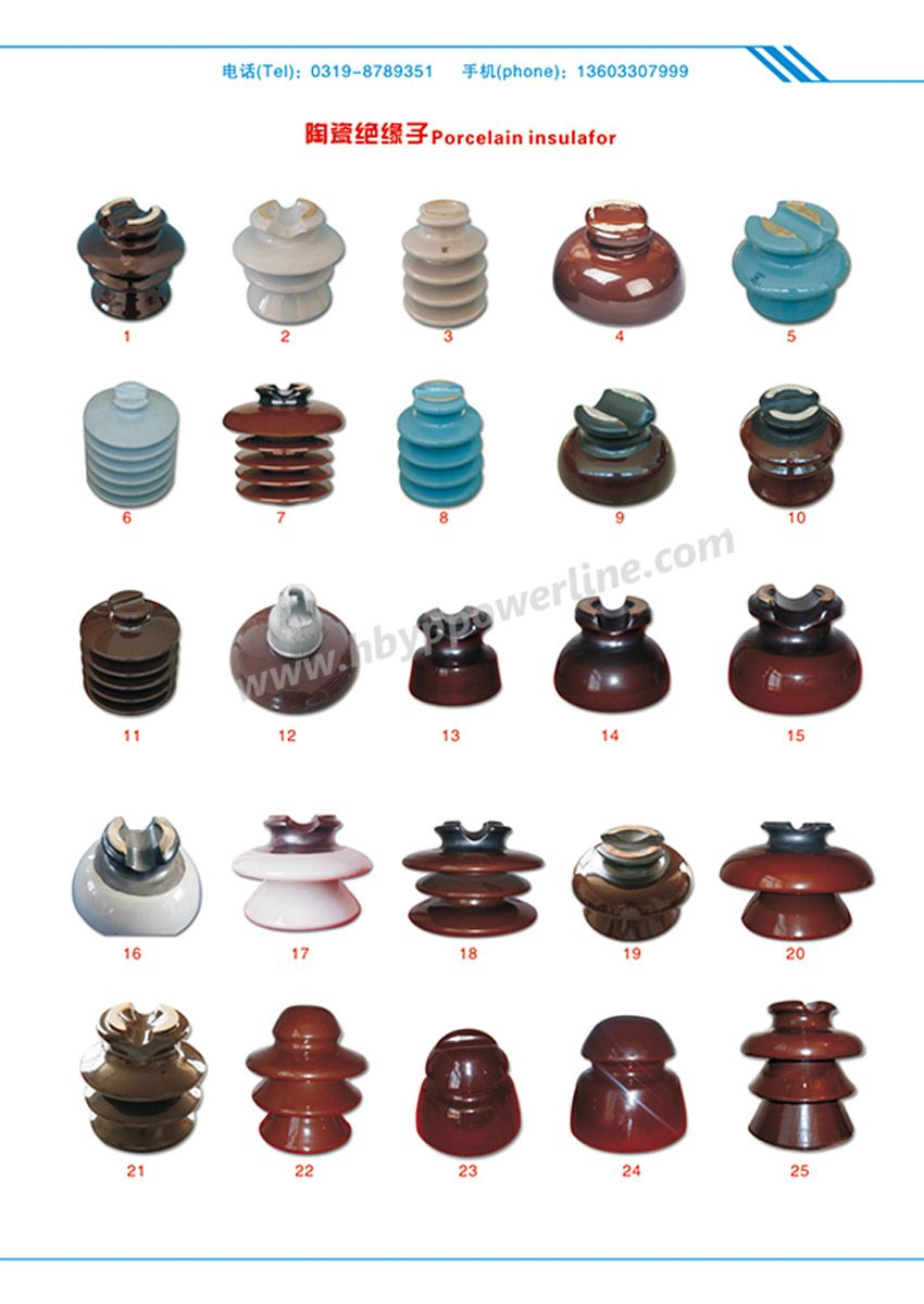 Porcelain Stay Insulators